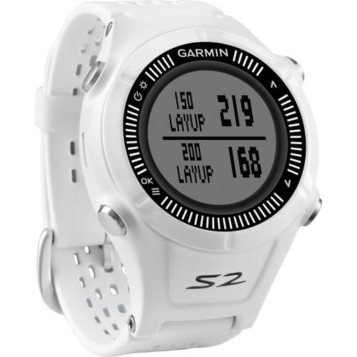 Garmin Approach S2 GPS Golf Watch (White/Gray) 010-01139-00