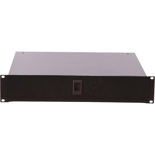 Gator Cases Rackworks 2U Microphone Rack Drawer GRW-DRWMIC10