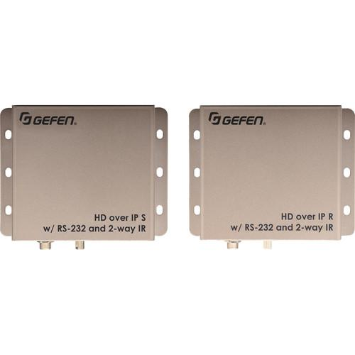 Gefen HD Over IP with RS-232 and 2-Way IR EXT-HD2IRS-LAN-RX