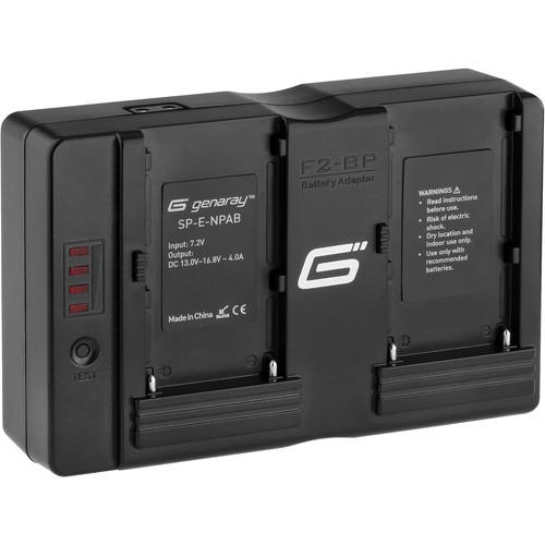 Genaray SpectroLED Essential Sony NP Battery Adapter SP-E-NPAB