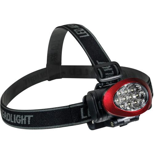 Go Green  10 LED Headlight (Red) GG-113-10HLRD