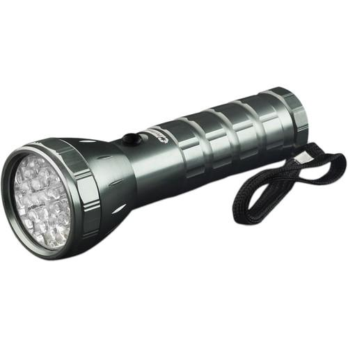 Go Green  28 LED Flashlight (Silver) GG-113-24SV