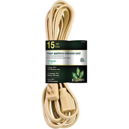 Go Green 3-Outlet Major Appliance Extension Cord GG-25615