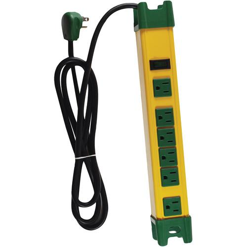 Go Green  6-Outlet Metal Surge Protector GG-26114