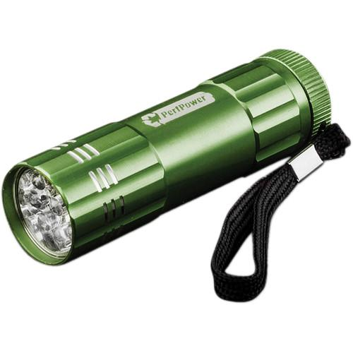 Go Green 9 LED Flashlight (Dark Green) GG-113-09-DG