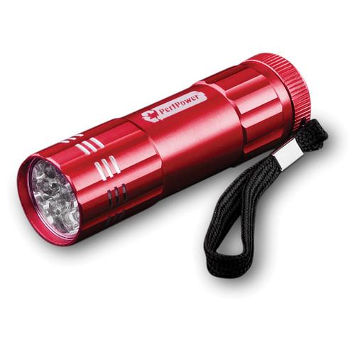 Go Green  9 LED Flashlight (Red) GG-113-09RD