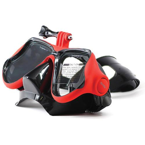 GoMax GoPro Scuba Diving Mask (Red) GMX-MASK01-RED