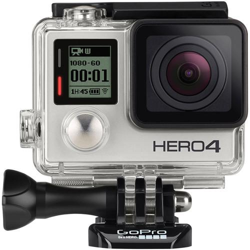 GoPro HERO4 Silver Kit with Tripod Mounts and Handheld