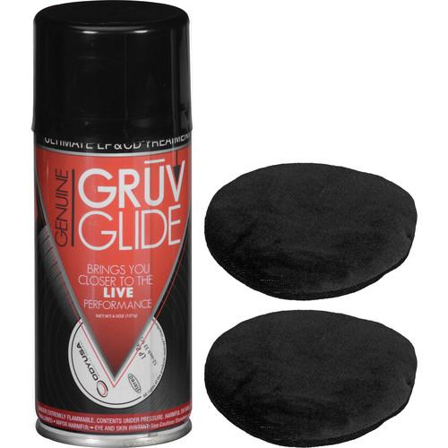 GruvGlide LP and CD Cleaning and Treatment Kit GRUV GLIDE