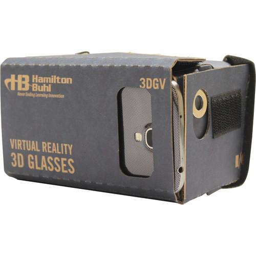 HamiltonBuhl 3D Virtual Reality Glasses for Smartphones 3DGV