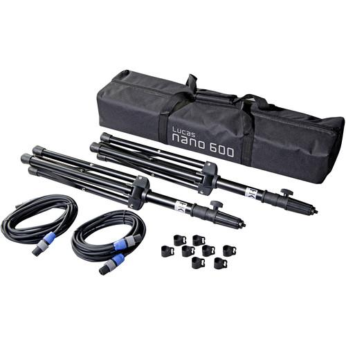 HK AUDIO Stereo Pole Set for Lucas Nano 600 PA System