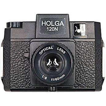 Holga 120N Medium Format Film Camera (Rubberized Black) 320120
