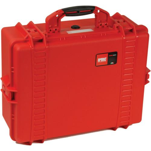 HPRC 2600F HPRC Hard Case with Cubed Foam Interior HPRC2600FRED