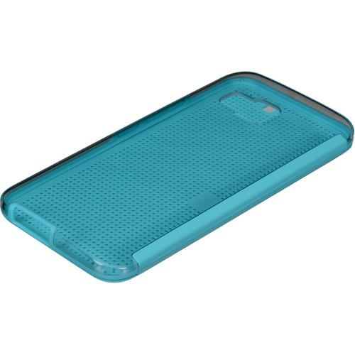 HTC Dot View Ice Case for One M9 (Turquoise Blue) 99H-20106-00