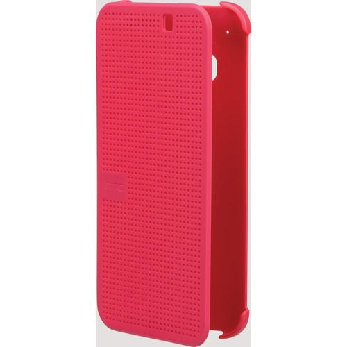 HTC Dot View Premium Case for One M9 (Candy Floss) 99H-20114-00