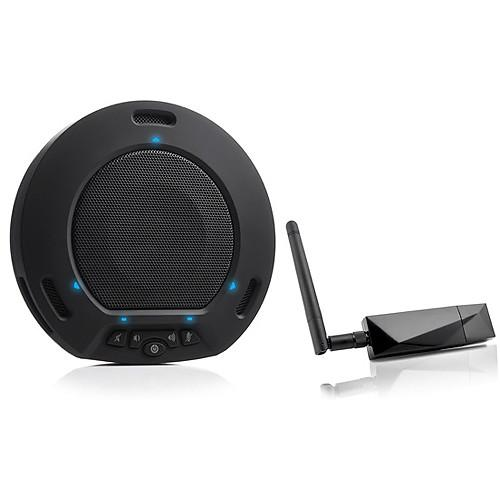 HuddleCamHD HuddlePod Air Wireless USB Speakerphone HP-AIR-BK