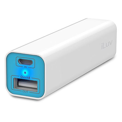 iLuv myPower 2600 Portable Battery Pack MYPOWER26WH