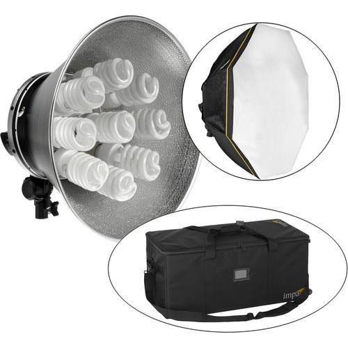 Impact Octacool-9 Fluorescent 2 Light Kit with Case OC-9-2KIII