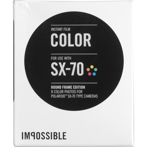 Impossible Color Instant Film for Polaroid SX-70 Cameras 4151