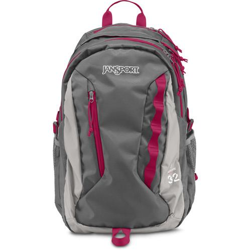 JanSport Women's Agave 32L Backpack (New Storm Gray) JS00T70L5DF