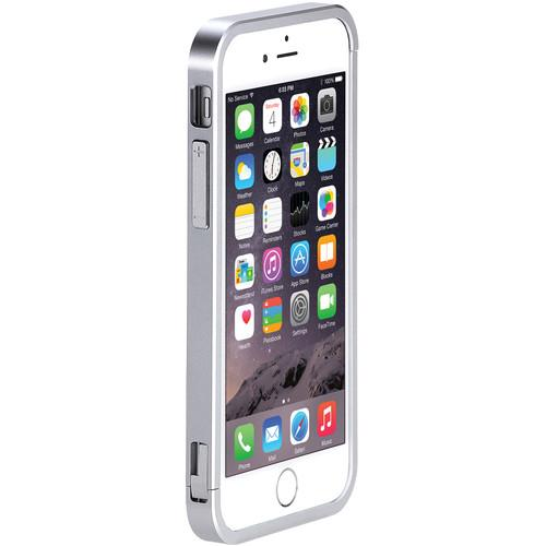 Just Mobile AluFrame Case for iPhone 6/6s (Silver) AF-268-SI