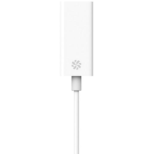 Kanex USB-C to Gigabit Ethernet Adapter (4', White) KU3CGBT
