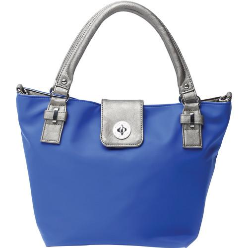 Kelly Moore Bag Saratoga Bag with Removable Basket KM-1813 BLUE