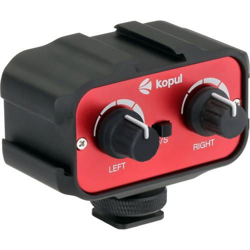 Kopul CMX-1 Two-Channel Mini Mixer with Shoe Bracket CMX-1