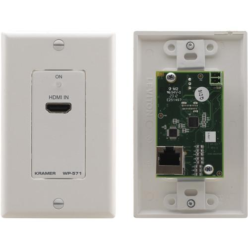Kramer WP-571 Active 1-Gang Wall Plate HDMI over WP-571(B)