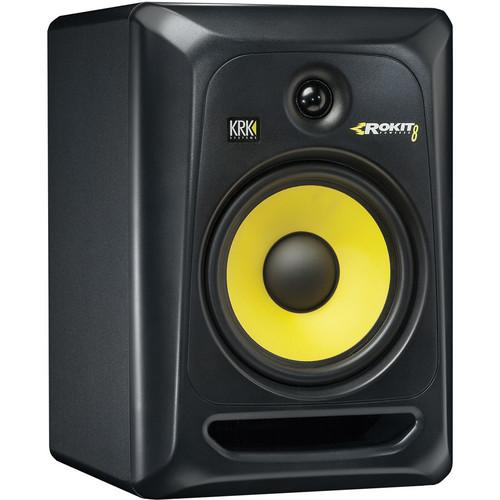 KRK ROKIT 8 G3 Monitors and K10s Subwoofer With Monitor