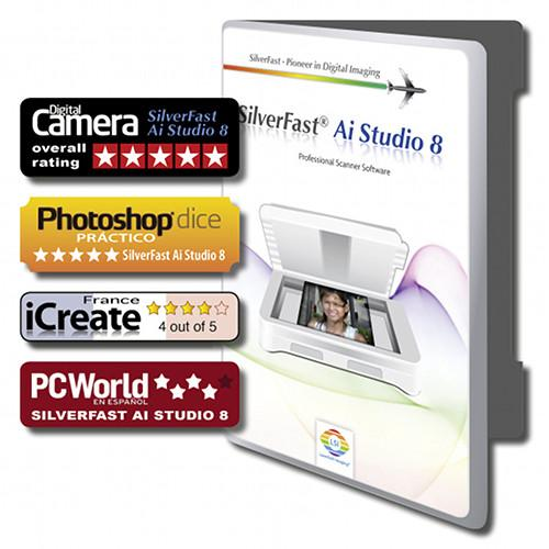 LaserSoft Imaging SilverFast Ai Studio 8 Scanner PIE12-8