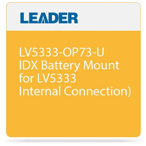 Leader LV5333-OP73-U IDX Battery Mount for LV5333 LV5333-OP73-U