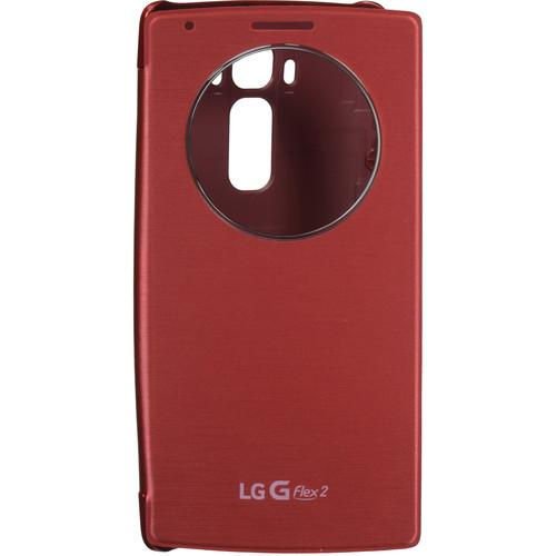 LG Quick Circle Folio Case for G Flex2 (Burgundy)