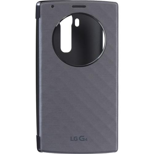 LG Quick Circle Folio Case for G4 (Violet Black) CFV-100-ACUSSVI