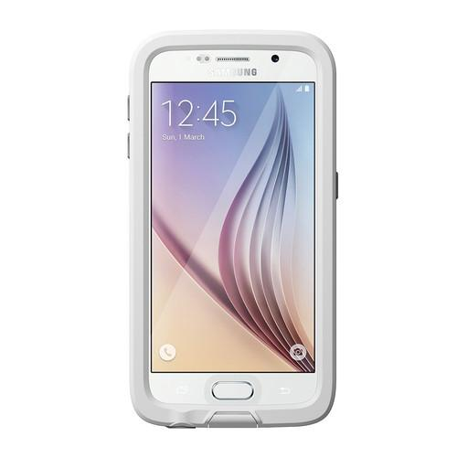 LifeProof frē Case for Galaxy S6 (White/Gray) 77-51258