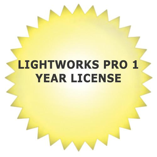 Lightworks Pro Professional Video Editing Software LW-YEAR