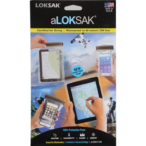 LOKSAK aLOKSAK Waterproof Bags (Set of 4) LOK-ALOKD4-ITM