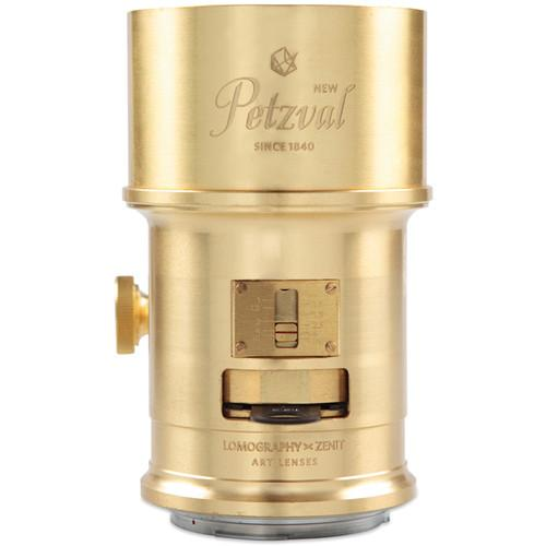 Lomography Petzval 85mm f/2.2 Lens for Nikon F Mount Z230N