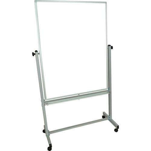 Luxor MB3648WW Mobile Magnetic Reversible Whiteboard MB3648WW
