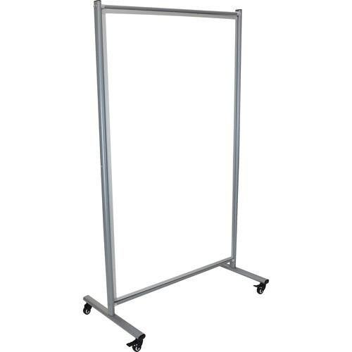 Luxor MD4072W Mobile Magnetic Whiteboard Room Divider MD4072W
