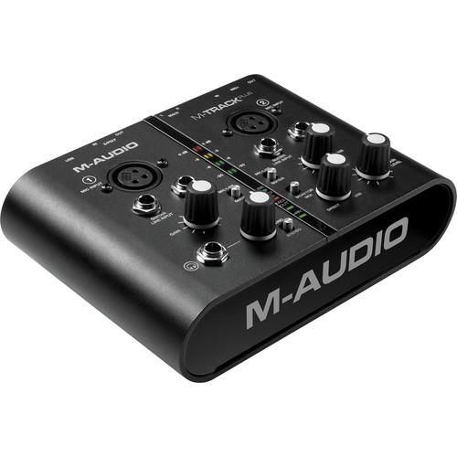 M-Audio M-Track Plus - USB Audio/MIDI Interface MTRACK PLUSNPTE