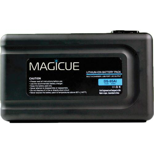 MagiCue MAQ-BT-95AI Gold Mount Battery with Built-In MAQ-BT-95AI