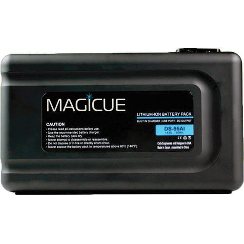 MagiCue MAQ-BT-95SI V-Mount Battery with Built-In MAQ-BT-95SI