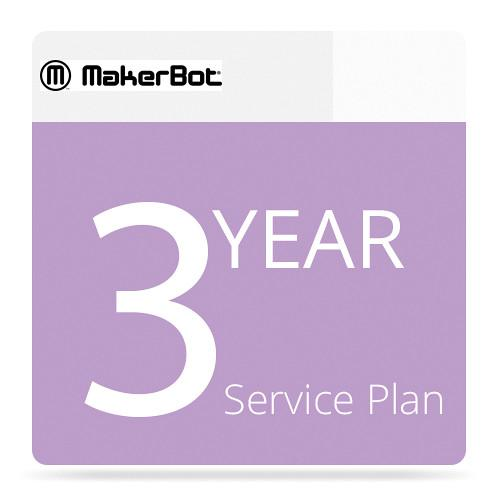 MakerBot 3-Year MakerCare Service Plan for MakerBot MP06774