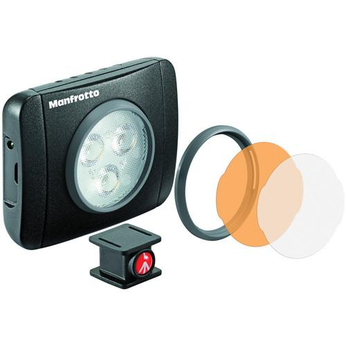 Manfrotto Lumimuse 3 On-Camera LED Light (Black) MLUMIEPL-BK