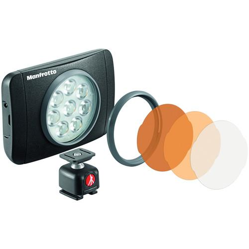 Manfrotto Lumimuse 8 On-Camera LED Light (Black) MLUMIEMU-BK