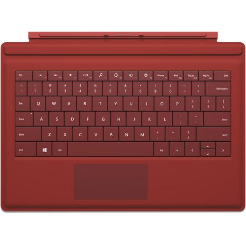 Microsoft Surface Pro 3 Type Cover (Red) RD2-00077