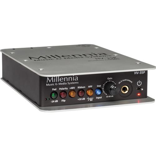 Millennia HV-35P Portable Microphone and Instrument HV-35P
