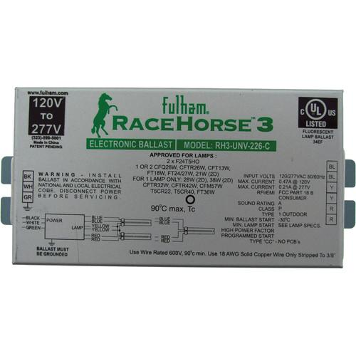 MK Digital Direct Fulham Racehorse 3 Light Ballast RH3-UNV-226-C