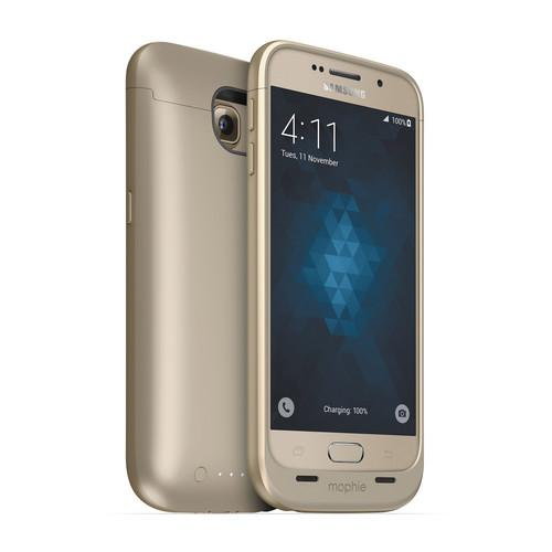 mophie juice pack Battery Case for Galaxy S6 (Gold) 3206